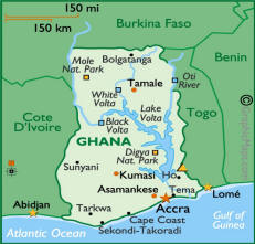 Image result for accra ghana map